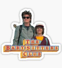 Stranger Things Steve and Dustin The Babysitter's Club Sticker