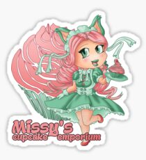 Missy's Cupcake Emporium Sticker