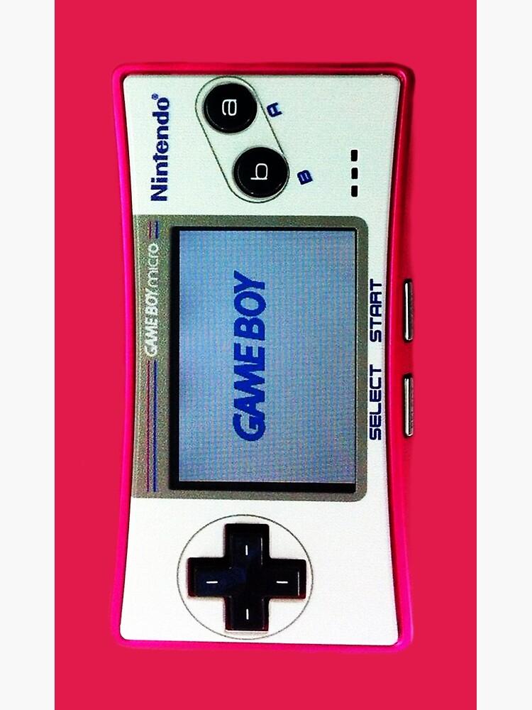 Nintendo Gameboy Micro Poster