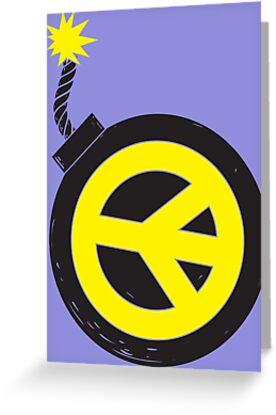 Peace Bomb by Jonah Block