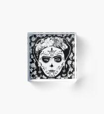 Sugar skull Acrylic Block