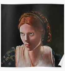 Medieval Girl Poster