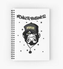 Motherfucker - Monkey Businez Spiral Notebook