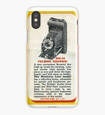 Vintage Kodak! The Famous Folder Six-20 iPhone Case