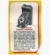 Vintage Kodak! The Famous Folder Six-20 Poster
