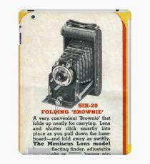 Vintage Kodak! The Famous Folder Six-20 iPad Case/Skin