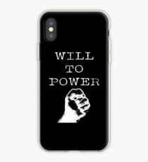 Will To Power - Friedrich Nietzsche Philosophy iPhone Case