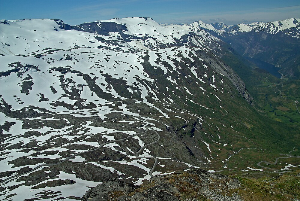 Dalsnibba, Norway by ludek