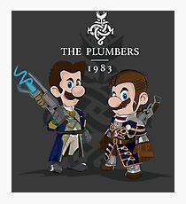The Plumbers Photographic Print