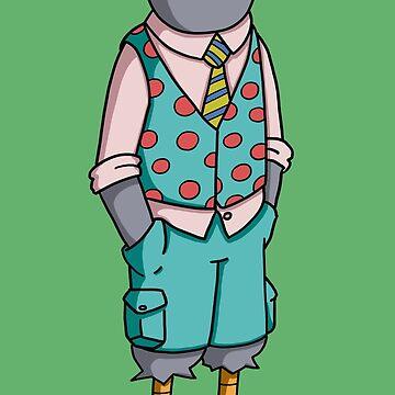 Fashion Pigeon by pencilfury