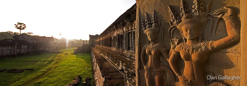 Angkor Wat at sunrise by Dan Gallagher