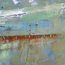 Harbour Abstract II - JUSTART (c) by JUSTART