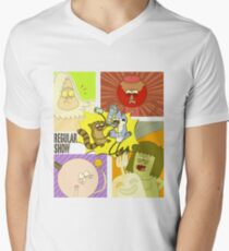 Regular Show Men's V-Neck T-Shirt