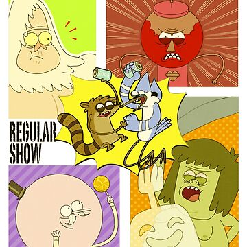Regular Show by MrMood