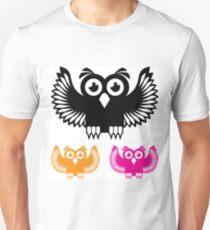 Vector Owl Unisex T-Shirt
