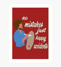 Lámina artística Accidentes felices