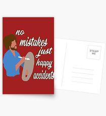 Happy Accidents Postcards