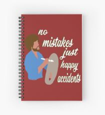 Happy Accidents Spiral Notebook