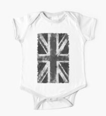 UK flag Black and White Kids Clothes