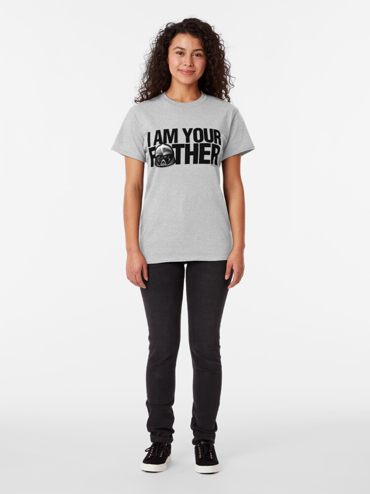 Alternate view of SW - I am your father Classic T-Shirt