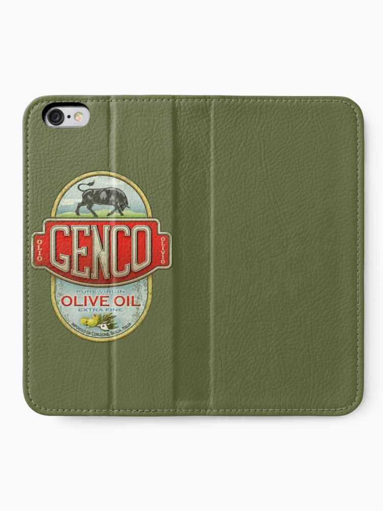 Alternate view of The Godfather - Genco Olive Oil Co. iPhone Wallet