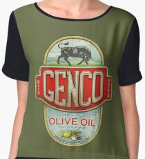 The Godfather - Genco Olive Oil Co. Chiffon Top