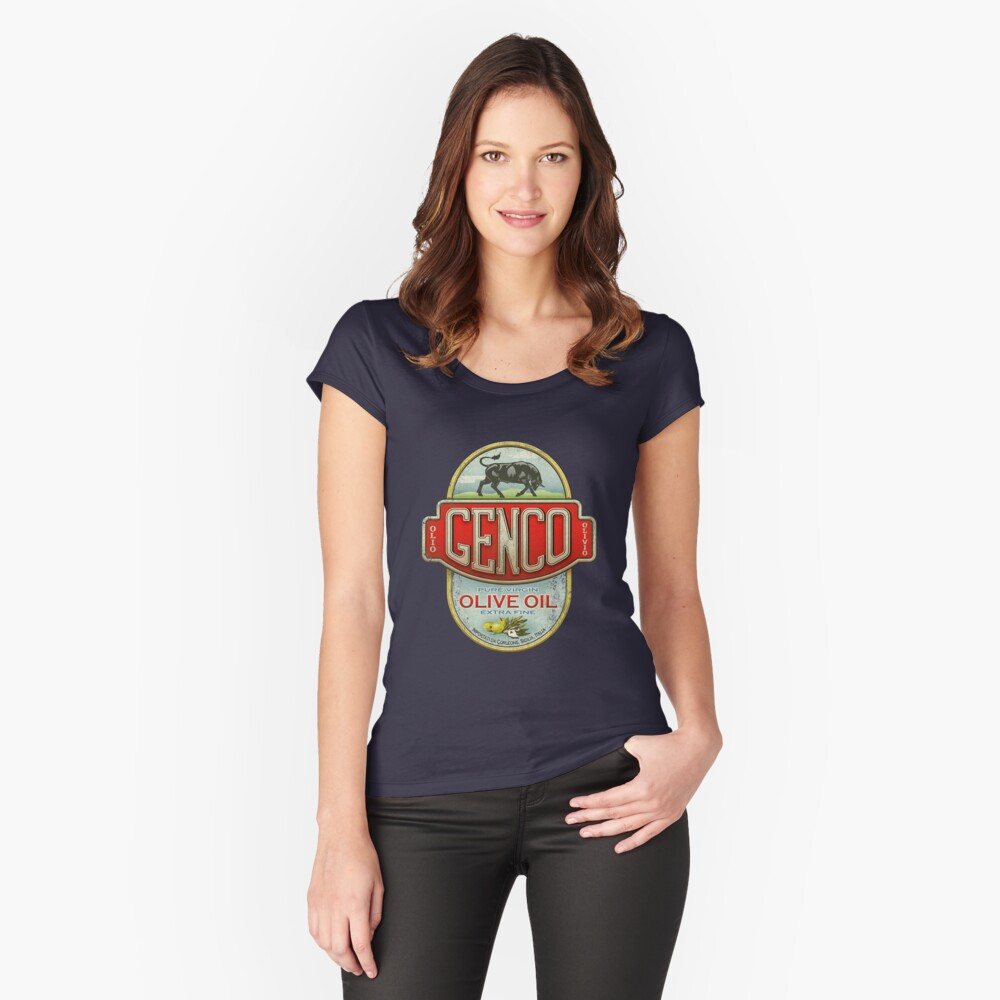 The Godfather - Genco Olive Oil Co. Fitted Scoop T-Shirt