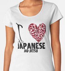 Japanese Jiu-Jitsu T shirt Design I Love japanese Jiu Jitsu Women's Premium T-Shirt