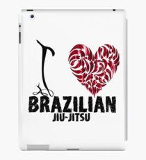 Brazilian Jiu Jitsu BJJ T shirt Design I Love BJJ iPad Case/Skin