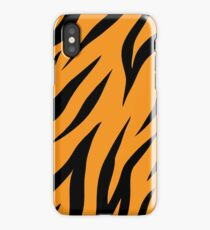 Tiger background iPhone Case/Skin