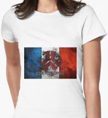 FlagDefqon T-shirt col V femme