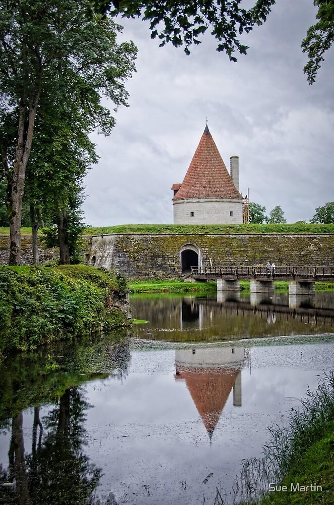 Kuressaare Castle, Estonia by Sue Martin