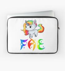 Fae Unicorn Laptop Sleeve