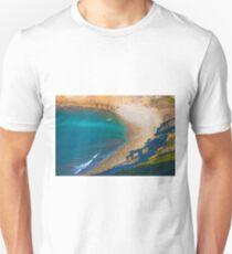 Lagosteiros beach view from Cabo Espichel. T-Shirt