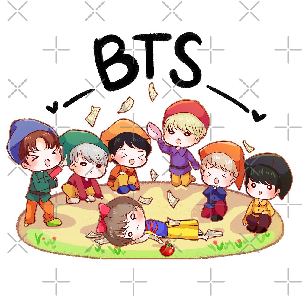 Anime bts gogo quot bts go go version quot by spirealle redbubble