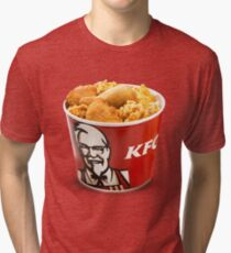 KFC - Bucket Tri-blend T-Shirt