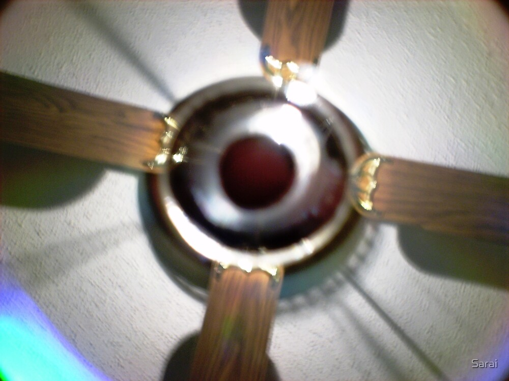 I hang not from the Ceiling...What am I? SOLVED!~I AM A REFLECTION ON A CD by Sarai