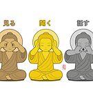 Three Wiser Buddhas by 73553