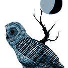 Cosmic owl  by Emma Parker
