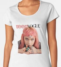 Grimes for Vogue Women's Premium T-Shirt
