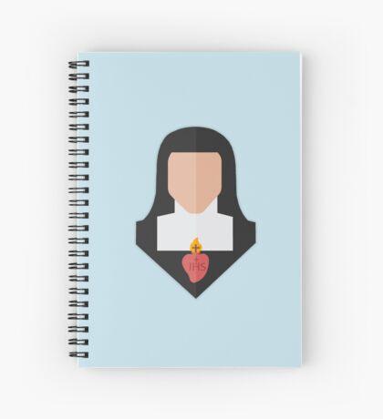 St. Jane de Chantal Spiral Notebook