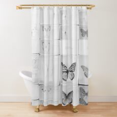 Lepidopterology Shower Curtain