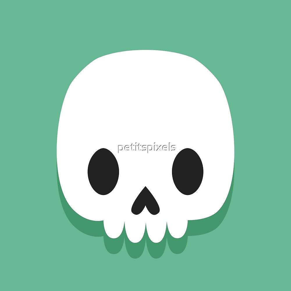 Cute skulls by petitspixels