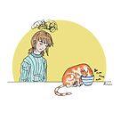 Bowl Cat by Rowan Lee-Foyster
