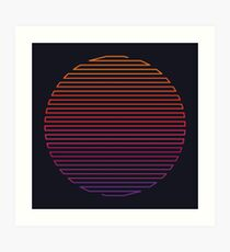 Linear Light Art Print