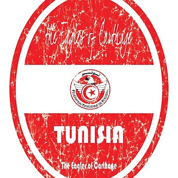 Football - Tunisia (Distressed) by madeofthoughts