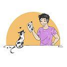 Paper Cat by Rowan Lee-Foyster