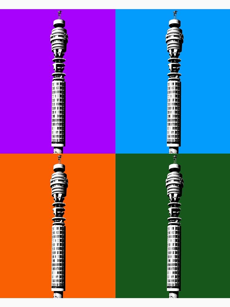 BT Turm x 4 von garyhogben