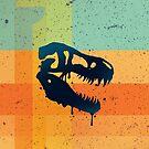 «T-Rex Patchwork» de Letter-Q