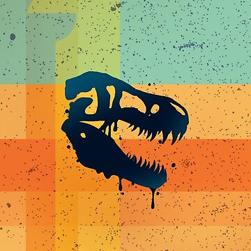 T-Rex Patchwork by Letter-Q